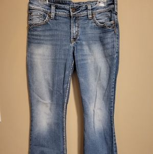 Silver Suki Surplus Boot Cut Jeans Size 30 L 32